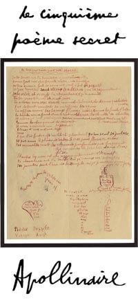Le Cinquième poème secret