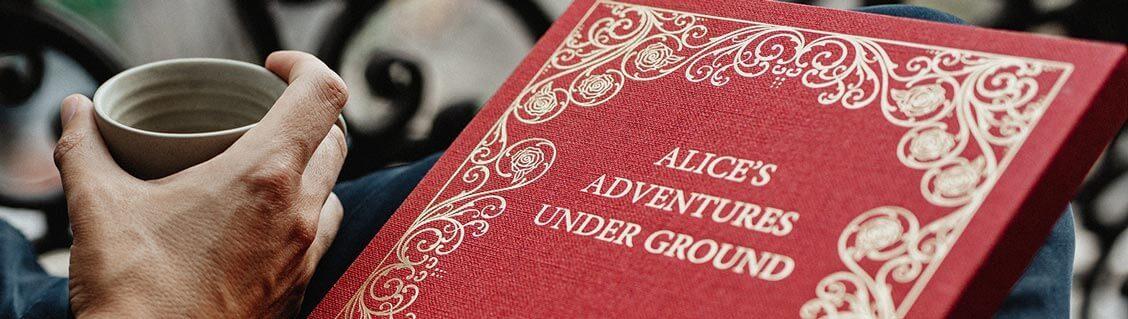 Alice in Wonderland, the manuscript of Lewis Carroll