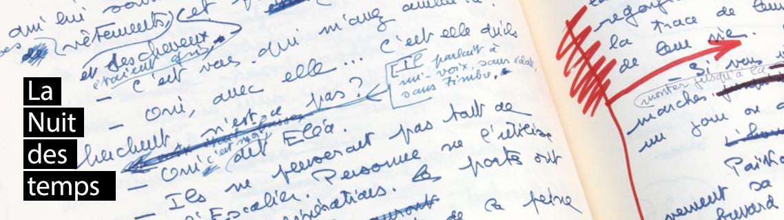 La Nuit des temps, le manuscrit de René Barjavel